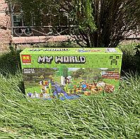 Конструктор Bela My World 10175аналог Lego Майнкрафт