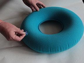 Противопролежневая подушка, подушка на сидение надувная (с насосом), фото 3