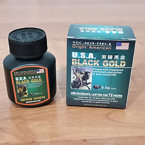 USA Black Gold - средство для повышения потенции (16 таблеток)