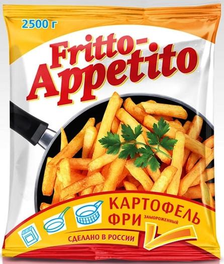 Картофель фри 9/9 frito appetito - фото 2