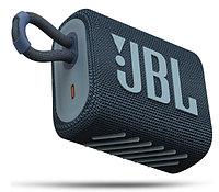 Колонка портативная JBL GO 3 синий 4.2W 1.0 BT (JBLGO3BLU)