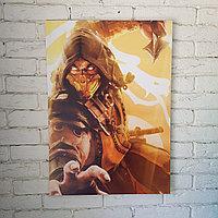 Постер Скорпион - Mortal Kombat