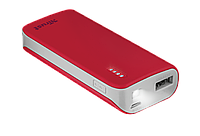 Внешний аккумулятор Trust PRIMO POWERBANK 4400 - RED