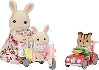 Sylvanian Families: Детская прогулка, фигурки животных, каталки, игровой набор, подарок девочке