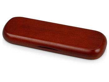 Футляр для ручки деревянный, коричневый