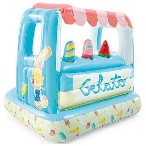 Игровой центр надувной «Кафе-мороженое Gelato» с бассейном INTEX 48672 {127 х 102 х 99 см}