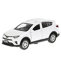 Технопарк: Toyota RAV4 12см белый