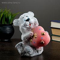 """Копилка """"Медведь с сердцем"""" малый МИКС 15см"""