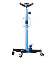 Стойка гидравлическая г/п 600 кг. KraftWell KRWTJ6_blue