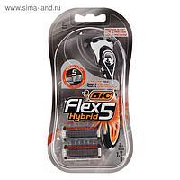 Набор BIC Flex 3 Hybrid станок для бритья, + 2 кассеты с 5 лезвиями