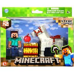 Minecraft 16594 Стив и лошадь