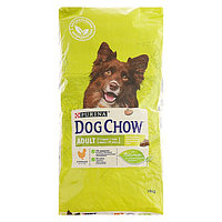 Сухой корм DOG CHOW для собак, курица, 14кг