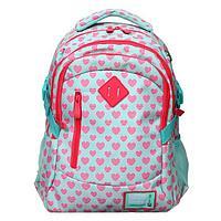 Рюкзак школьный, HEAD, 38 х 28 х 17 см, c эргономичной спинкой
