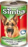 Simba Dog Симба Консервы для собак кусочки с говядиной, 1230 г