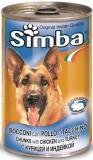 Simba 1230г с Курицей и индейкой Консервы для собак