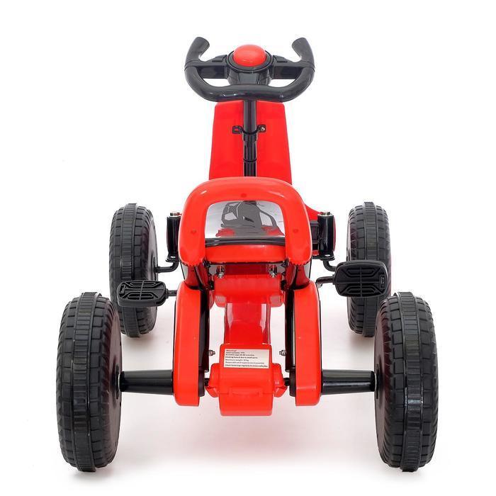 Веломобиль DRIFT, цвет красный - фото 5