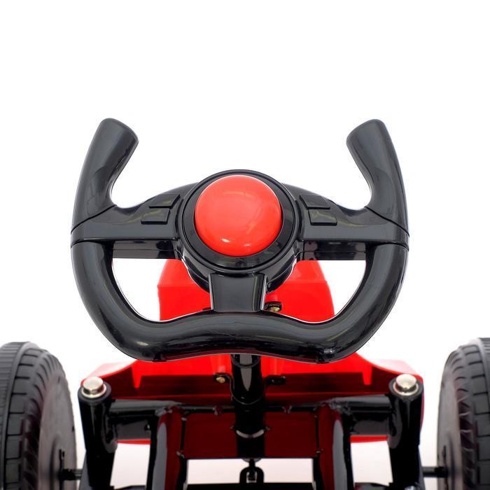 Веломобиль DRIFT, цвет красный - фото 6