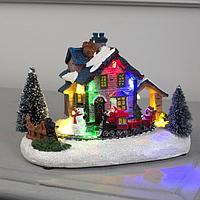 Фигура световая 'Рождественский поезд' 12х17 см, 5 LED, AАА*3 (не в компл), МУЛЬТИ