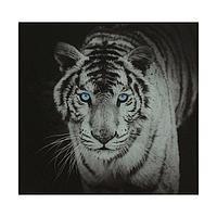 Картина на стекле 'Тигр' 50х50см