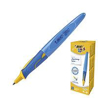 Ручка шариковая обучающая BIC Kids BP Twist Boy Blu, стержень синий сменный, корпус синий