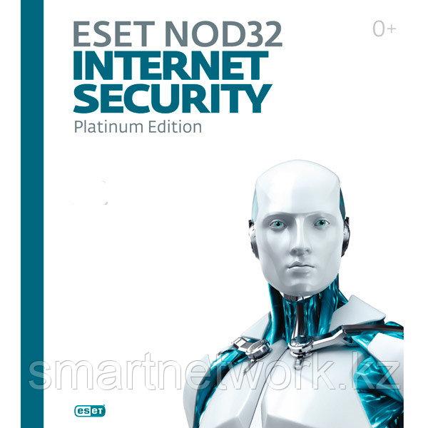 Eset NOD32 Internet Security- электронная лицензия на 2 года на 3 ПК