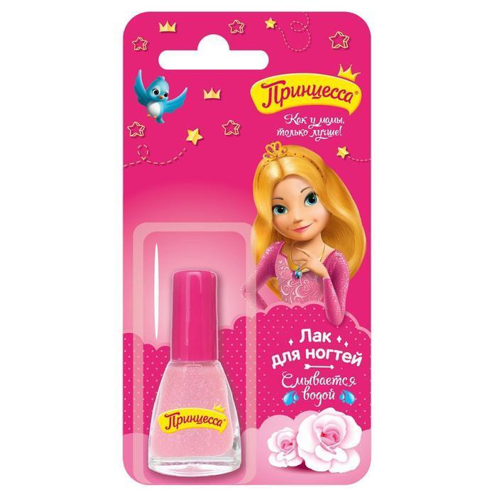 Лак для ногтей детский 'Принцесса', светло-розовый, 6 мл - фото 4