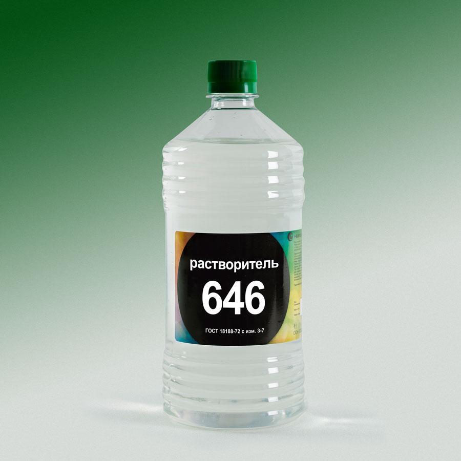 Растворитель Р-646 (0,5л) пэт/бут Нефтехимик