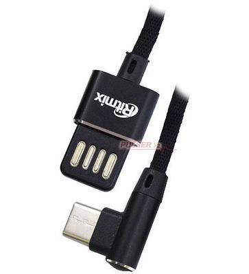 Кабель USB, Ritmix RCC-438 1.0м, Черный