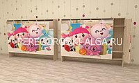 Шкаф для одежды с фотопечатью на цоколе Детский, фото 1