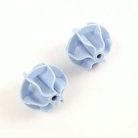 Набор шаров для стирки белья, d5,5 см, 2 шт, цвет МИКС