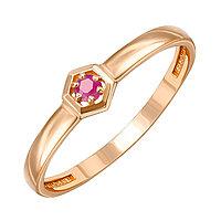 Серебряное кольцо с рубином TEOSA 20127-1094-RB