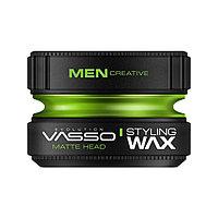 Воск матовый Vasso Matte head для укладки волос 150 мл №47614