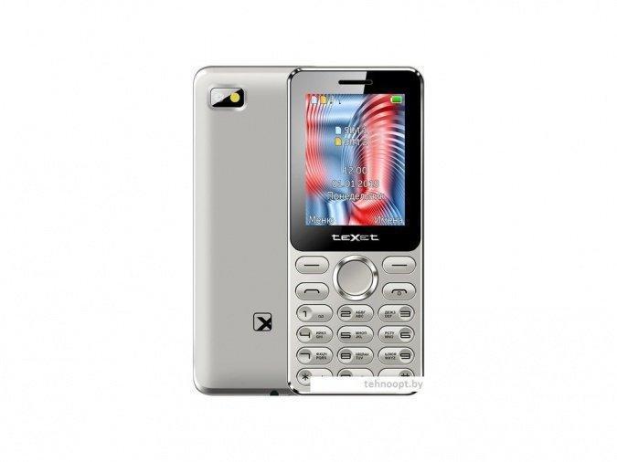 Мобильный телефон Texet TM-212 серый