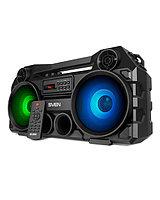 SVEN PS-580, черный, акустическая система 2.0, мощность 2x18 Вт (RMS), TWS, Bluetooth, FM, USB