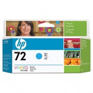HP C9371A Cyan Ink Cartridge  Vivera №72 for Designjet T1100/Т1100ps/Т610, 130 ml.