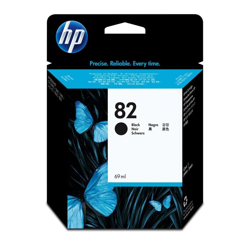 HP CH565A Black Ink Cartridge №82 for DesignJet 510, 69 ml.