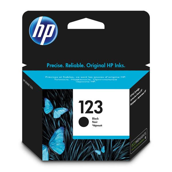 HP F6V17AE 123 Black Ink Cartridge for  for DeskJet 2130/2630/3639 up to 120 pages