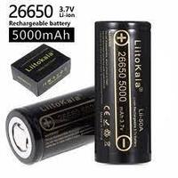 26650 3.7v 5000mah аккумулятор для стабилизатора dji osmo и прочих