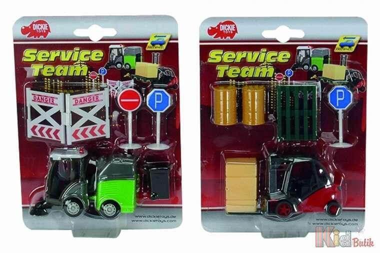 """Игровой набор Dickie Toys SERVICE TEAM, """"Спецтехника"""" в ассортименте"""