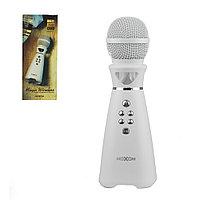 Микрофон караоке Bluetooth Moxom MX-SK21, White