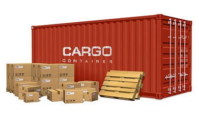 Доставка перевозки карго грузов из Китая 20 или 40 футовым контейнером