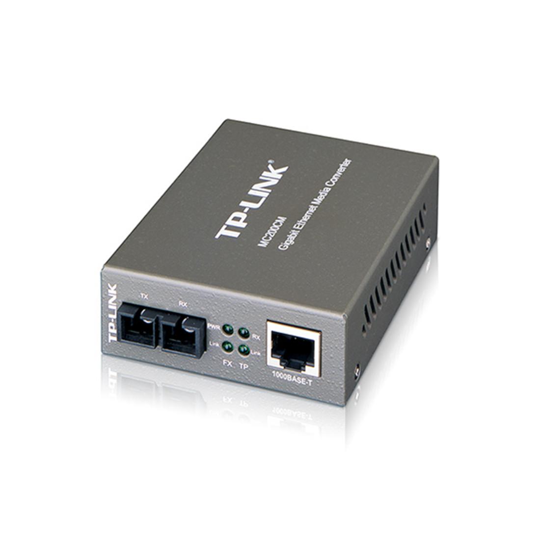 Оптический медиаконвертер GbE Tp-Link MC200CM