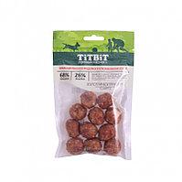Titbit Фрикадельки из индейки в клюквенном соусе для собак Золотая коллекция 70 г 019153
