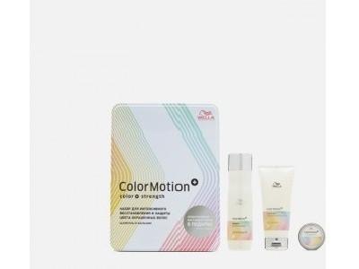 Набор по уходу за волосами Wella Professionals Color Motion Shampoo 250 ml+ Condtioner 200 ml + свеча в - фото 1