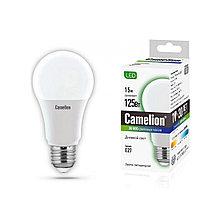 Camelion LED15-A60/865/E27 лампа светодиодная 15Вт, Тип колбы А60, Цвет. температура 6500К, Цоколь E27, Дневн.