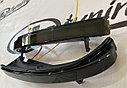 Повторители поворотов в зеркала с ДХО Плазма (2 режима, чёрное стекло) Приора SE, фото 4