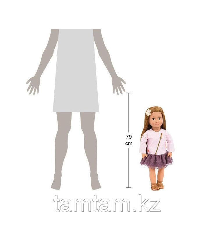 """Кукла """"Виена в розовой кожаной курткe"""" 46 см от Our Generation/ Канада - фото 3"""