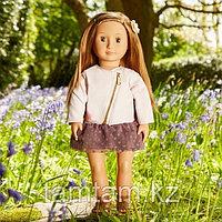 """Кукла """"Виена в розовой кожаной курткe"""" 46 см от Our Generation/ Канада"""