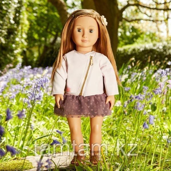"""Кукла """"Виена в розовой кожаной курткe"""" 46 см от Our Generation/ Канада - фото 1"""