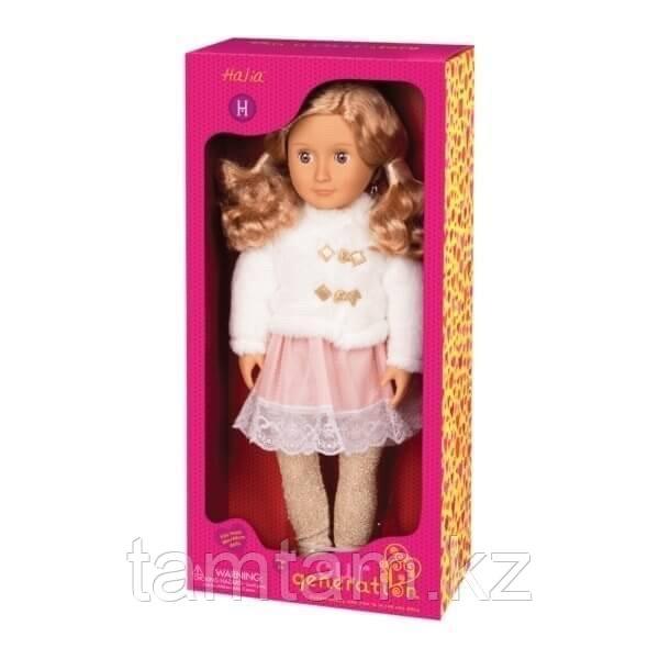 """Our generation"" кукла Галия в белом полушубке/ 46 См/ Канада - фото 4"